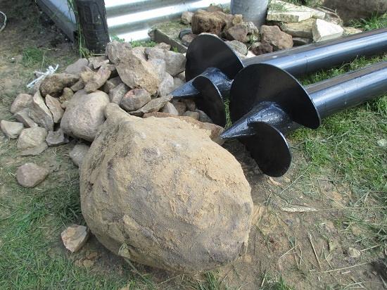 Особенности монтажа свайно-винтового фундамента в каменистый грунт